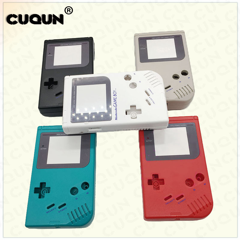 For Game Boy Classic Game Replacement Case Plastic Full Housing Shell Cover for Nintend GB Console housing For GB Case