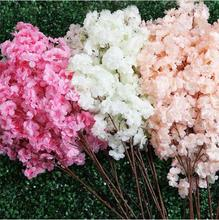 Artificial high-end simulation cherry plant flowers Japanese-style fake wedding home decoration