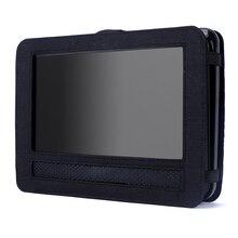Portablecase Soporte para Reproductor de DVD Del Coche de 9 Pulgadas Reposacabezas Monitor Del Coche de Montaje de la Correa Cubierta Protectora Cubierta de la Caja