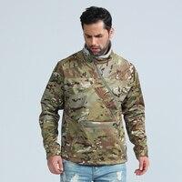 Soft Shell Военная ветровка Для мужчин темно Водонепроницаемый тактическая куртка пальто мужской Диагональ молния ветрозащитная куртка