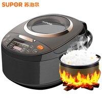 Визуализации сроки крышка электрическая рисоварка умный дом 4L мини автоматическая Multi плита риса пособия по кулинарии нагрева машины