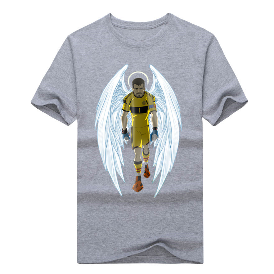 98af9aaf7 Newest 2018 the saint of spain iker casillas T Shirt 100% cotton popular  Logo T shirt-in T-Shirts from Men's Clothing on Aliexpress.com | Alibaba  Group