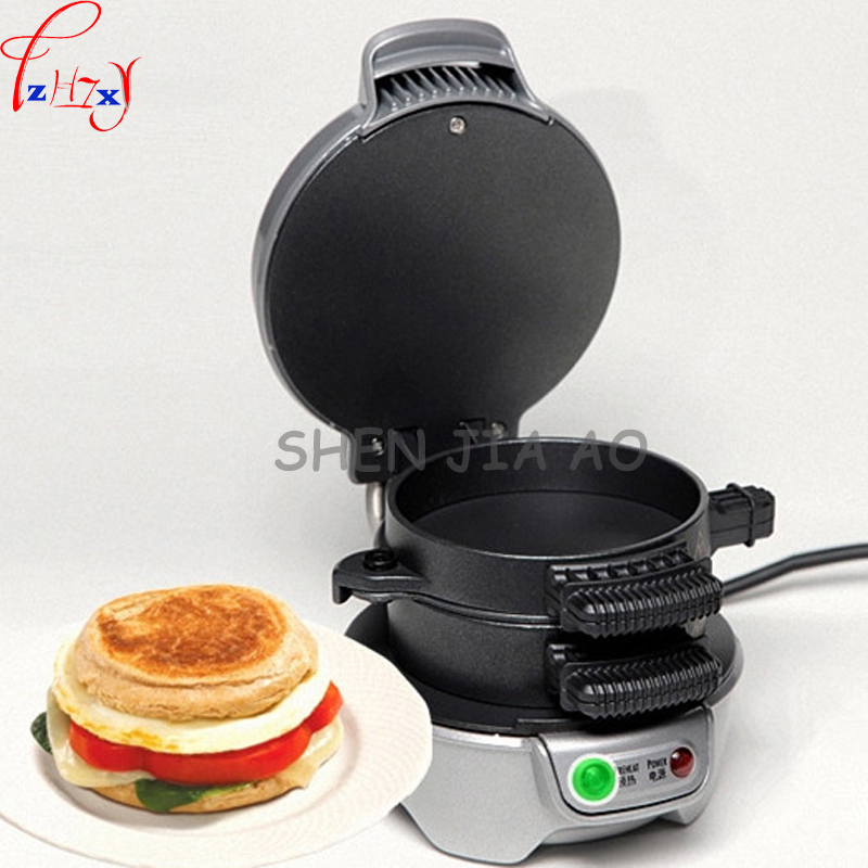 American Home Multifunction Burger Breakfast Machine Electric Breakfast Sandwich Machine 600W 220V 1PC salter air fryer home high capacity multifunction no smoke chicken wings fries machine intelligent electric fryer