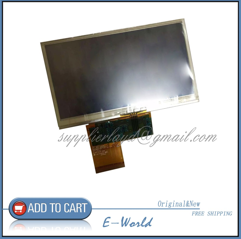 Original 4.3inch LB043WQ2-TD01 LB043WQ2(TD)(01) LB043WQ2 LCD display panel with touch screen digitizer free shipping