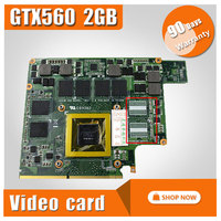 G73SW VGA Board GTX 560M GTX560M N12E GS A1 2GB DDR5 MXMIII VGA Video Card For