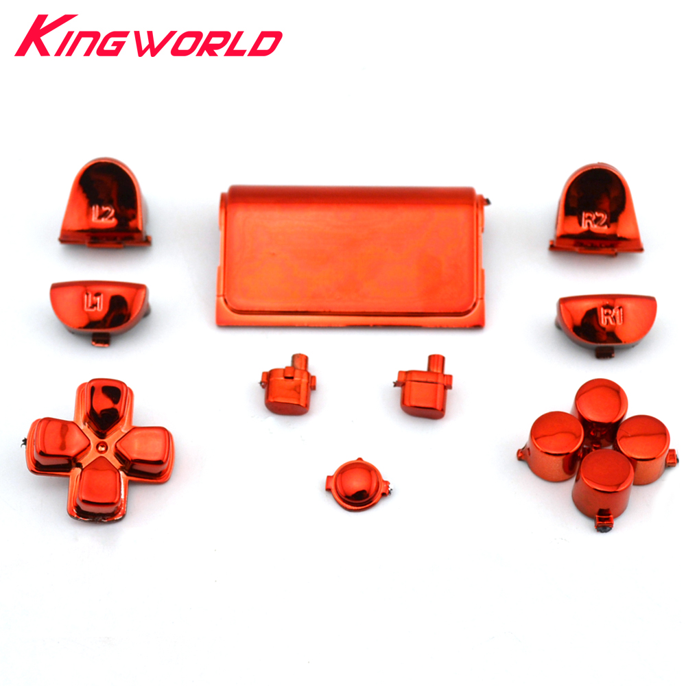 Accessories Buttons Mod Kit R2 L2 R1 L1 Trigger Buttons GameFor For Sony PlayStation Dualshock 4 For PS4 Controller