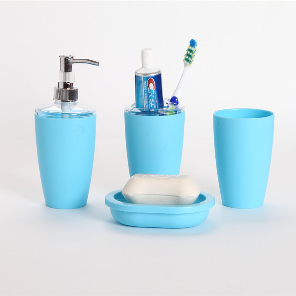 Popular roman bathroom accessories buy cheap roman for Accessoire salle de bain bleu turquoise