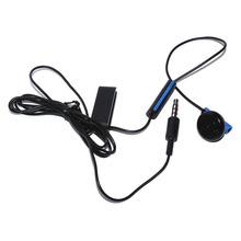 Headset Earbud Microphone Earpiece for PS4 Controller Headphones