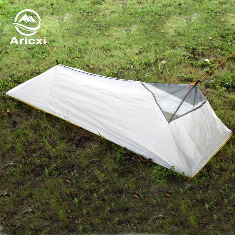 Zaledwie 250 gramów 4 pory roku namiot z siatki wewnętrznej lato na świeże powietrze namiot kempingowy