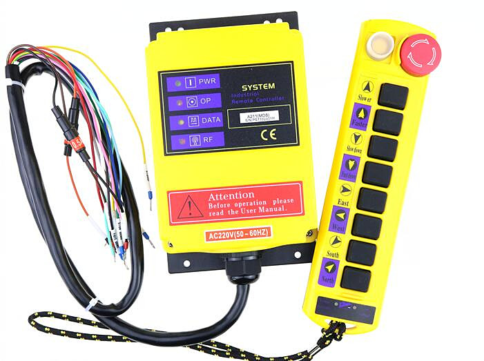 A211 Cupid type 9 key traveling crane industrial wireless remote controller can be customized