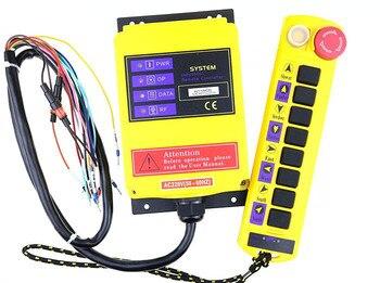 A211 Cupid Tipo 9 key traveling crane industrial control remoto inalámbrico se puede personalizar