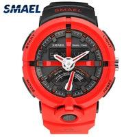 S SHOCK Digital Running Clocks SMAEL Brand Chronograph Auto Date Men S Digital Sport Watches Hot