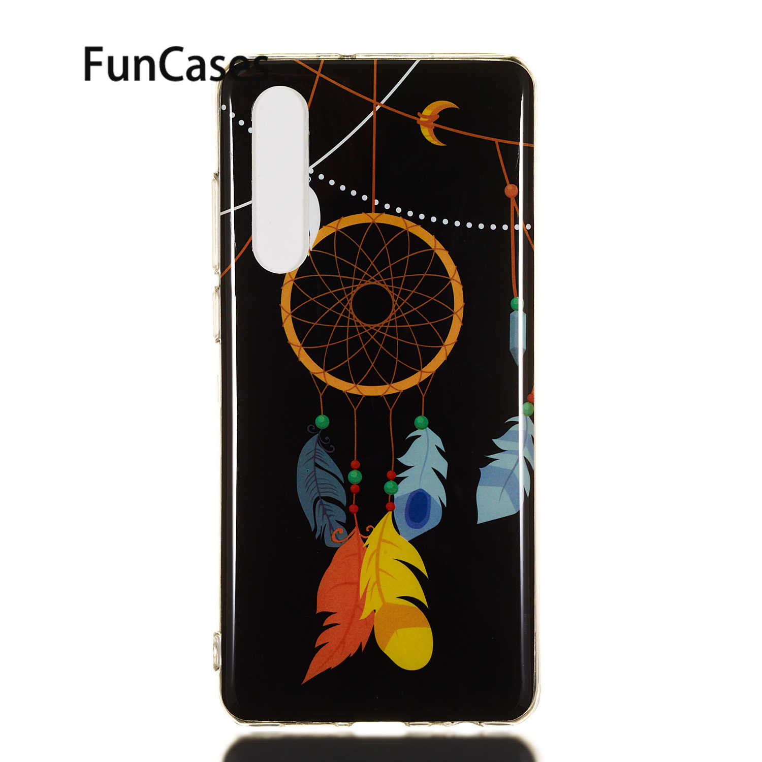 Luminous Phone Case For coque Huawei P30 Pro Glossy Soft TPU Shell sFor Csse Huawei estojo P30 Plus P20 Lite Pro Movil