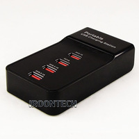 4 Ports USB Power Adapter USB Charger Charging Station. Output: DC 5V/2.1A*1 port,5V/1A*1 port,5V/0.5-1A*2 ports.