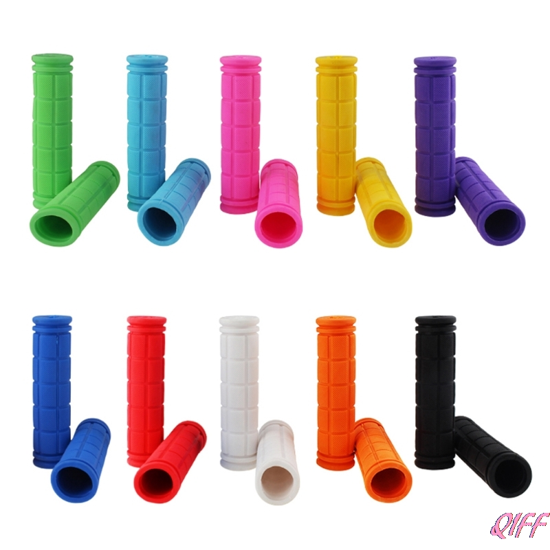 Dropshipping BMX MTB Cycling Mountain Bicycle Scooter Bike Handle Bar Rubber Soft End Grip APR28