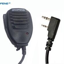 Лучшая рация Baofeng динамик микрофон для Kenwood TYT Pofung ручной UV5r UV-82 Bf-888s Bf 888s UV-5R аксессуары микрофон