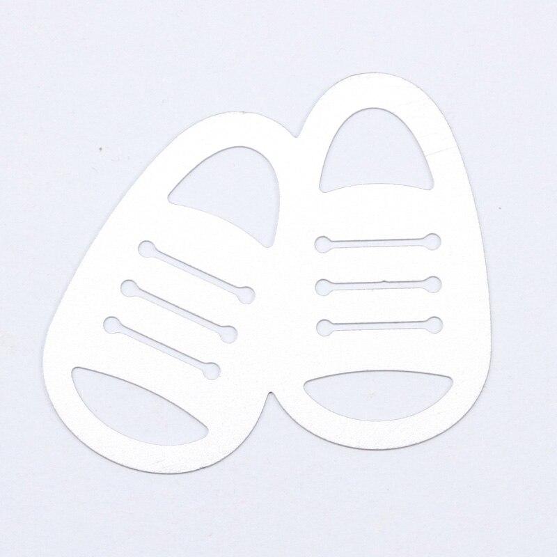 Детская обувь резки металла умирает Трафареты для DIY Скрапбукинг/фотоальбом декоративное тиснение DIY Бумага карты корабль GiftA010