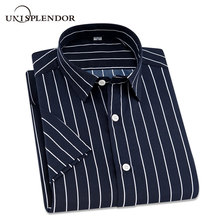 2019 Summer Branded Men Casual Shirts New Turn Down Collar M