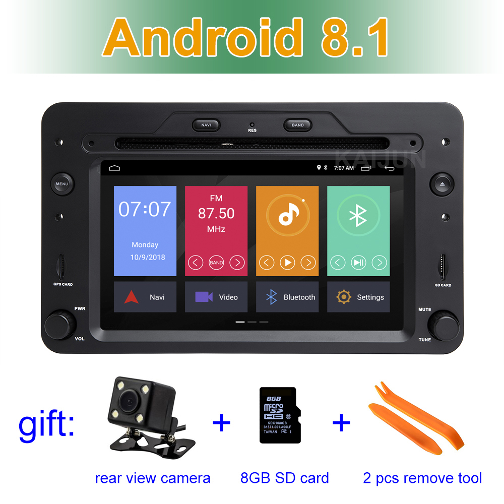 Android 8.1 Car dvd Stereo player for Alfa Romeo Spider Alfa Romeo 159 Brera 159 Sportwagon with Radio GPS WIFI BT