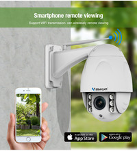 C34S-X4 Wireless PTZ Dome IP Camera Outdoor 1080P HD 4X Zoom CCTV Security Video Network Surveillance Security IP Camera Wifi