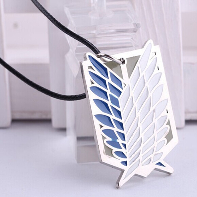 Anime Attack on Titan Pendant Necklace Cosplay Necklace Womes