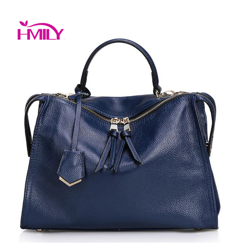 New women's bags Natural Leather Fashion handbags genuine leather women Bag ladies messenger Shoulder bags for women