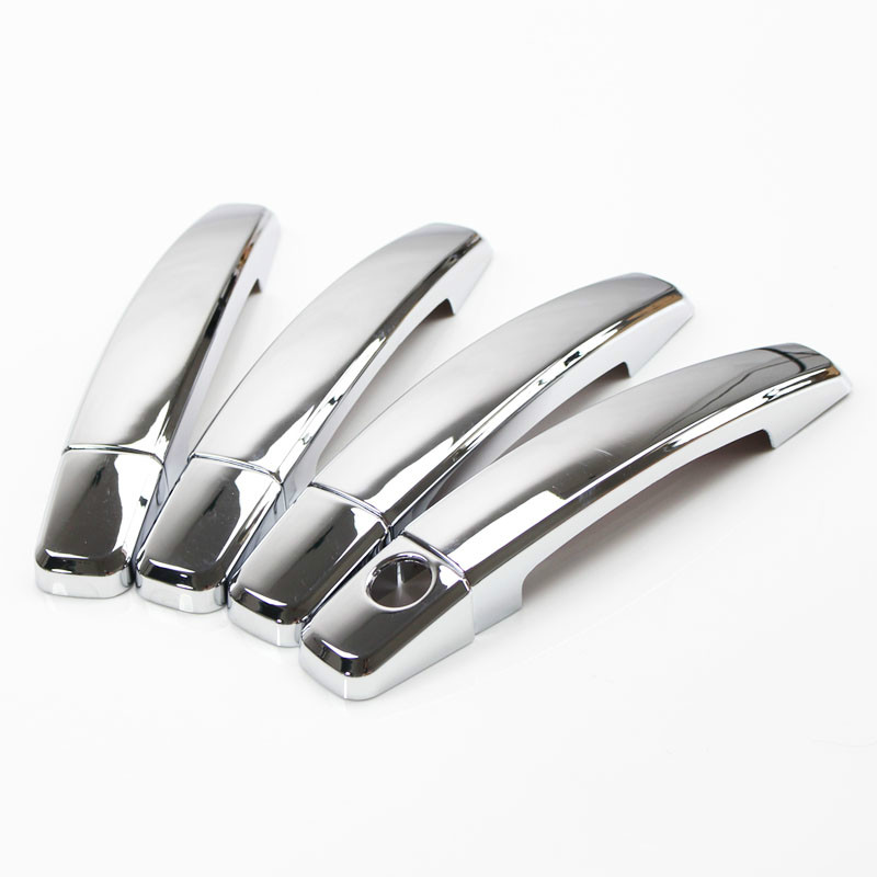 Image 2 - for Opel Corsa D 2007 2014 Chrome Handle Cover Trim Set Vauxhall 2008 2009 2010 2012 2013 Car Accessories Stickers Car Styling-in Car Stickers from Automobiles & Motorcycles