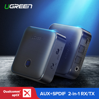 Ugreen Bluetooth Receiver 5.0 4.2 aptX Transmitter for Car TV Headphone Optical 3.5mm SPDIF Bluetooth AUX Audio Receiver Adapter