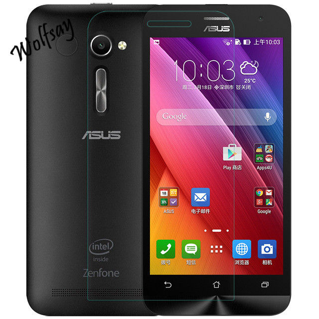 2Pcs Wolfsay Tempered <font><b>Glass</b></font> For <font><b>Asus</b></font> <font><b>Zenfone</b></font> <font><b>2</b></font> <font><b>Ze500CL</b></font> Tempered <font><b>Glass</b></font> For <font><b>Asus</b></font> <font><b>Zenfone</b></font> <font><b>2</b></font> <font><b>Ze500CL</b></font> Phone Film <font><b>Screen</b></font> Protector image