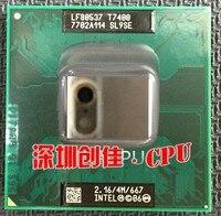 Original portátil de la CPU intel Core 2 Duo T7400 CPU 4 M Socket 479 Caché/2.16 GHz/667/soporte del procesador Portátil de doble Núcleo 945