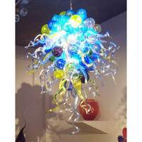 Longree Christmas New Year fashion pretty lights decorative lamp bright colored chandeliers festival use ceiling led light