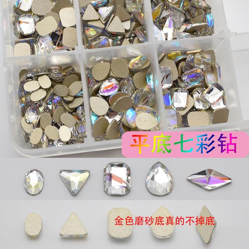 100PCS/Lot 2016 New Design Beautiful Nail Charm- Zircon decorative crystal diamonds For Art  8MM
