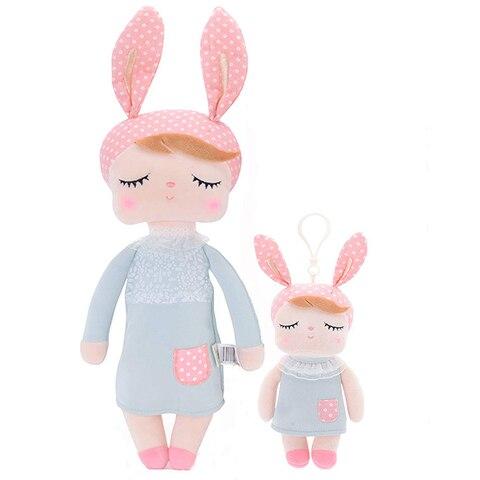 Metoo 2pcs Angela Rabbit Dolls Girl Baby Gift Plush Stuffed Gift Toys for Kids Children kawaii Brand New Lahore