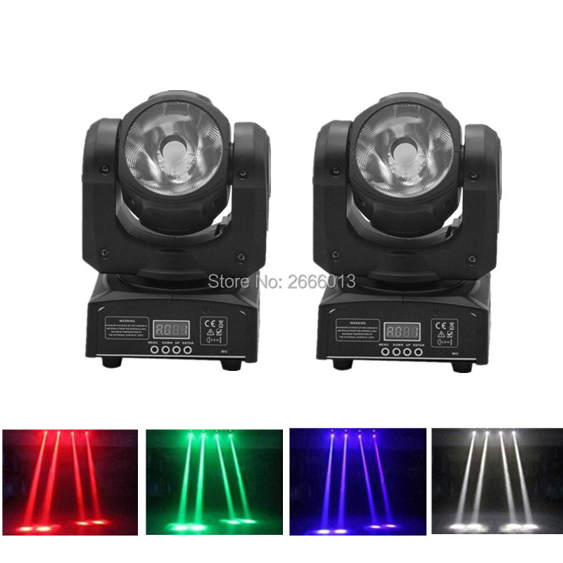 2pcs/lot 60W Super Beam LED Moving Head Light /RGBW 4in1 60W LED Beam Stage Effect Lighting /DMX512 Linear Beam DJ Spot Lighting 2pcs lot 4 10w 10w double sides rgbw spot light led moving head stage effect lights dmx512 dj party lighting wash beam effect