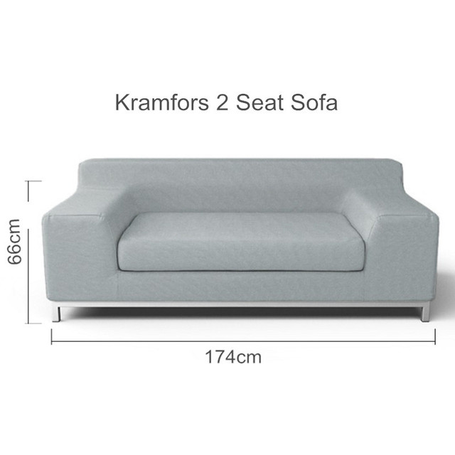 The Kramfors 2 Seat Sofa Cover Replacement For Kramfors 2 Seater ...