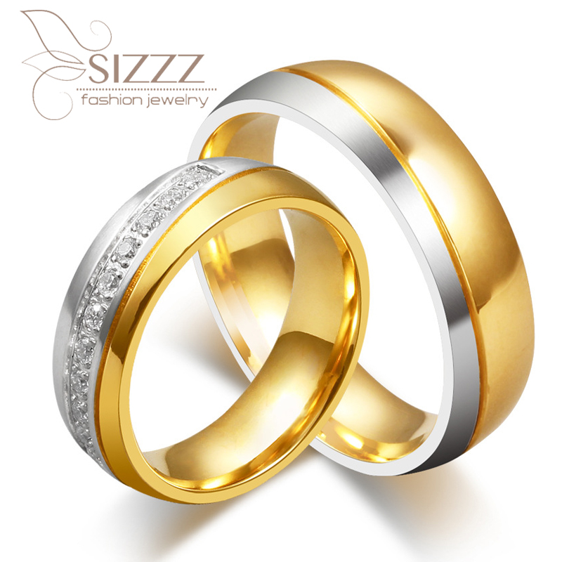 Aliexpress.com : Buy 2017 new CZ couple rings for love ...