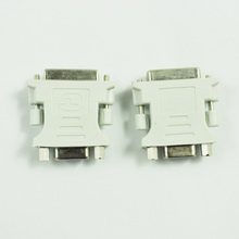 Thgs муж DVI-D к женскому VGA Мониторы F конвертер адаптер (DVI 24 + 1 Булавки)