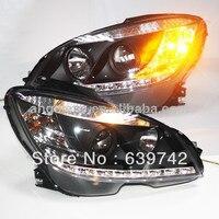 2007 2011 Year for Mercedes Benz W204 C180 C200 C260 C300 LED Head Lights