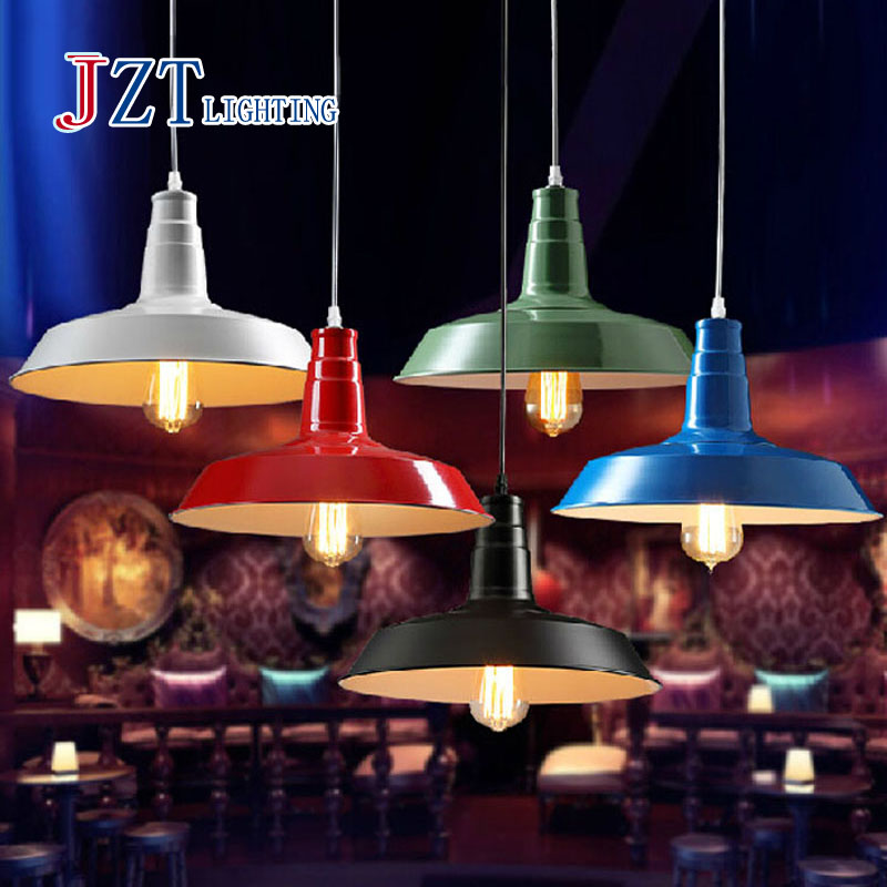 Z Best price new village Industrial chandeliers American country pot droplighting six colors 12 size for choice free shipping best price 5pin cable for outdoor printer
