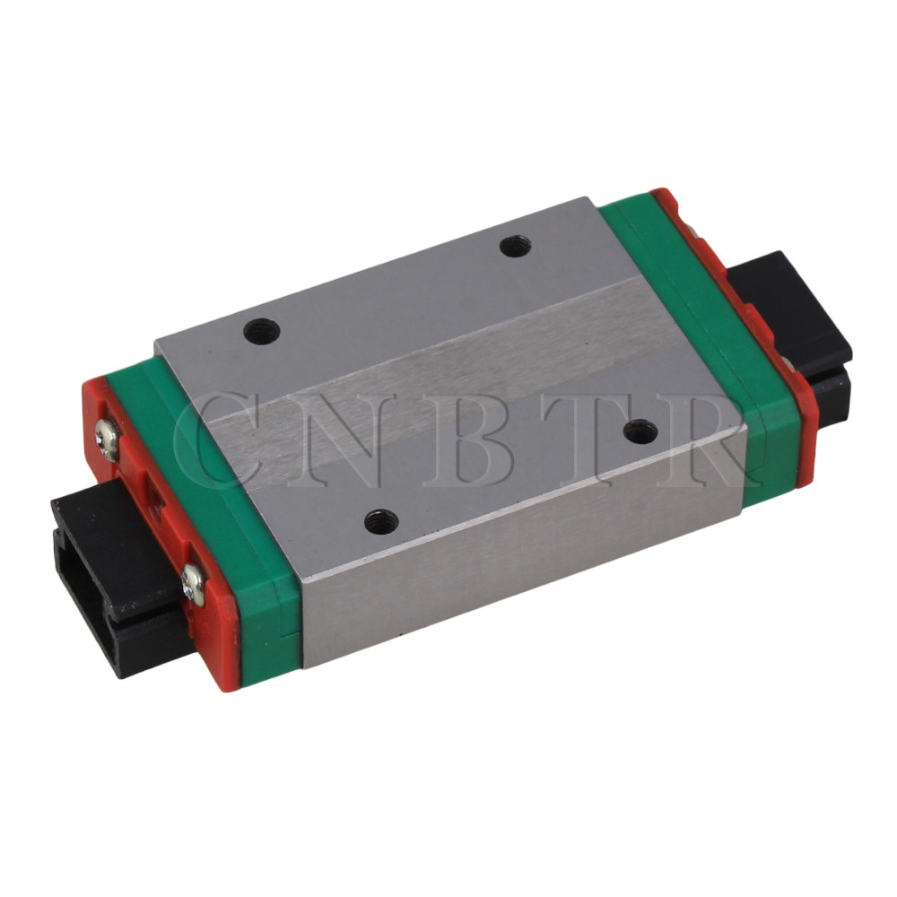 CNBTR 12mm Thick 59mm Length Extension Linear Guide Rail Sliding Block MGN15H cnbtr 8mm thick 30mm length linear guide rail sliding block mgn9c
