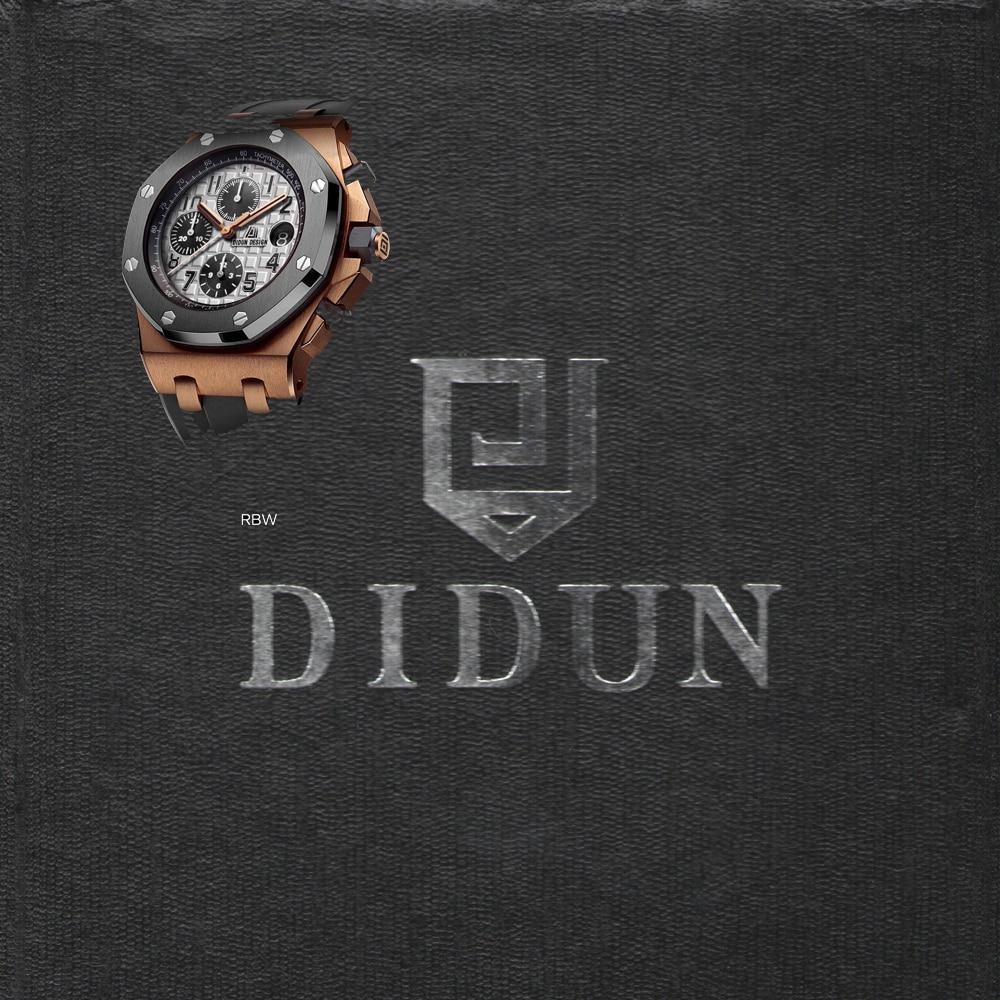 DIDUN часы Для мужчин Элитный бренд часы Для мужчин s стали Кварцевые часы Для мужчин платье Бизнес часы световой наручные часы 30 М Водонепрони...