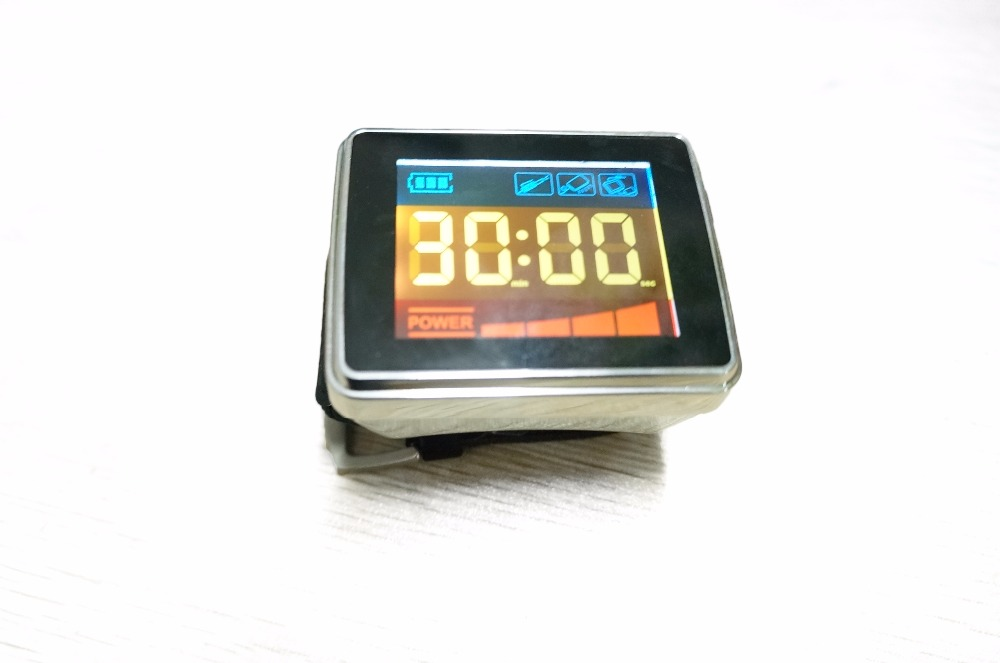 High blood pressure and idabetes therapy Laser machine 650nm laser diode laser-therapy-watch wrist type laser laser light device reduce blood pressure wrist watch wrist type laser