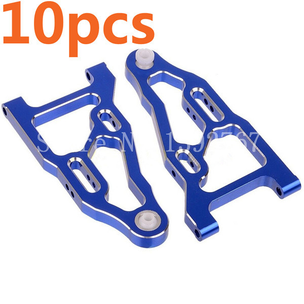 Wholesale 5Pairs/Lot HSP Upgrade 081019(81610) Front Lower Suspension Arm for 1/8 RC Car Nitro Power Off Road Monster Truck CNC medicine calf