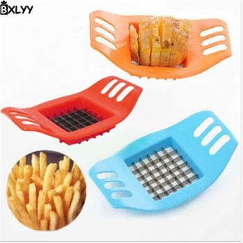 BXLYY Hot 1pc Multi-function Potato Chipper Home Potato Cutting Machine Creative Kitchen Gadget Home Decoration Accessories.7Z