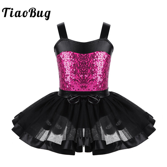 687653187 TiaoBug Children Girls Sleeveless Sequined Ballet Tutu Dress ...