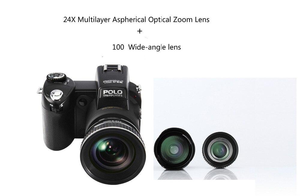 POLO SHARPSHOTS HD D7100 Digital Video Camera 33 Million Pixel Camera Digital Professional SLR shape Camera