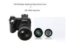 Поло sharpshots HD D7100 Цифровая видеокамера 33 млн пикселей камеры цифровой профессиональный форма зеркальные камеры 24X оптический зум