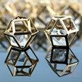Геометрия сплава вставки имитация бриллиантов, Diy мода прелести браслет одежды головной убор ожерелья ювелирных изделий