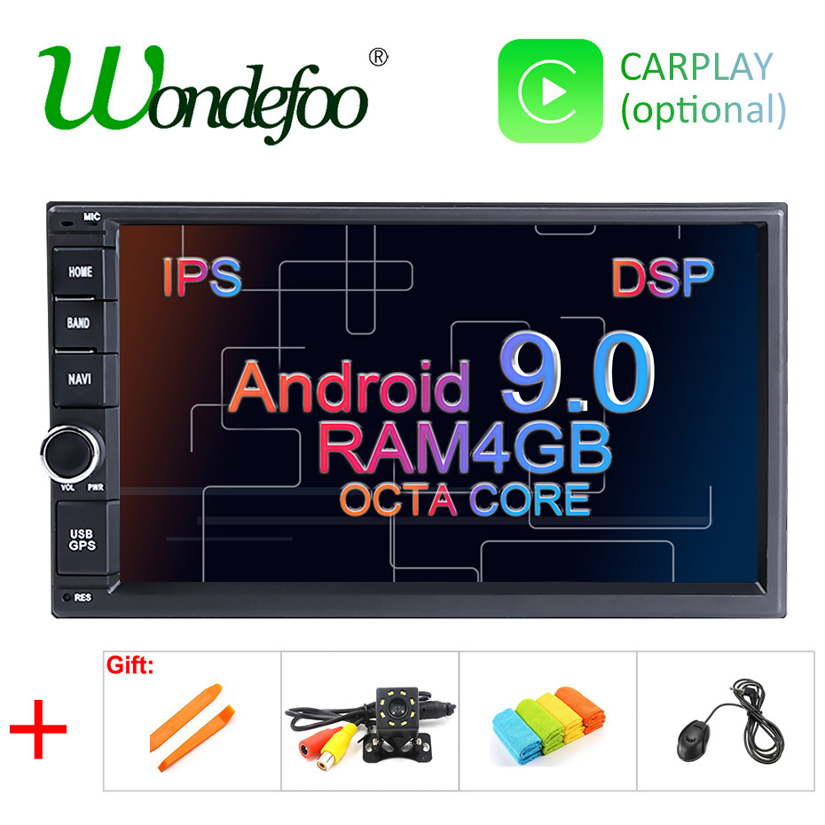 Double Two Din 7 Inch Android 8 1 Universal Car DVD Player Radio