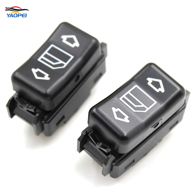 YAOPEI Power Window Switch Right Or Left 1248204510 For Mercedes W124 W126 W201 190 260 300 350 420 560 1986-1993